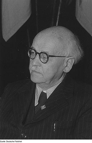 Emil Fuchs (theologian) - Emil Fuchs, 1952