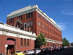 Foy & Gibson - Former warehouses and factories built for the company in Oxford Street, Collingwood.