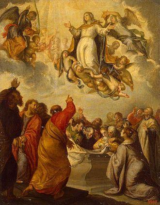 Francisco Camilo - Assumption of the Virgin by Francisco Camilo, Hermitage Museum, 1666