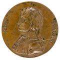 Framsida av medalj med Napoleon, 1790-tal - Skoklosters slott - 99327.tif