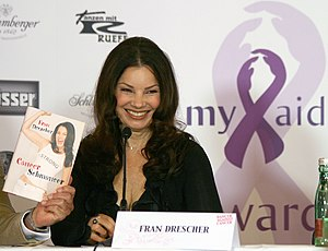 Fran Drescher during a press conference for th...