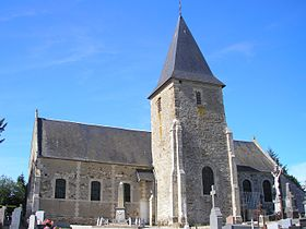 L'église Saint-Vigor.