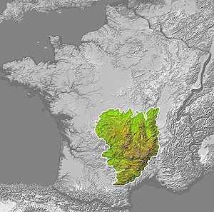 Massif Central - Image: France Massif central