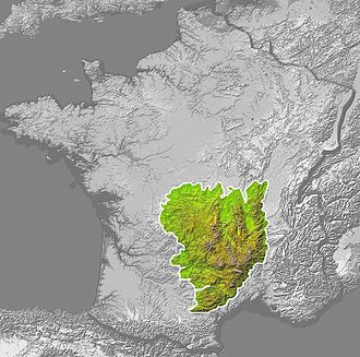 Camisard - Massif Central in France; the Cévennes are located in the southeastern part of it.