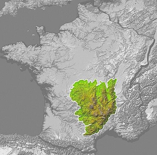 Sentralmassivet Wikiwand