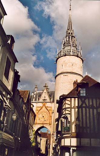 Auxerre - Clock Tower