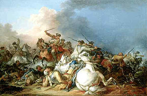 Francesco Giuseppe Casanova - Cavalry Battle, currently in the Louvre