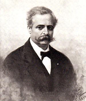 Francesco de Sanctis - An 1890 portrait of Francesco De Sanctis by Francesco Saverio Altamura