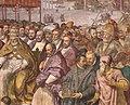 Francesco salviati e giuseppe porta detto il salviatino, Riconciliazione di papa Alessandro III e Federico Barbarossa, 1565-75, 09.jpg