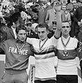 Francis Bazire, Flaviano Vicentini, Winfried Bölke 1963.jpg