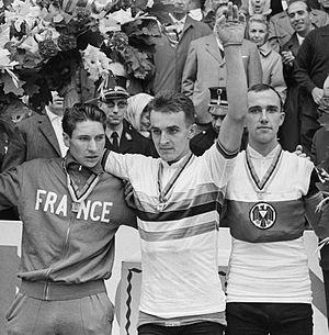 Winfried Bölke - Image: Francis Bazire, Flaviano Vicentini, Winfried Bölke 1963