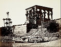 Francis Frith - The Hypaethral Temple, Philae (Egypt) - Google Art Project.jpg