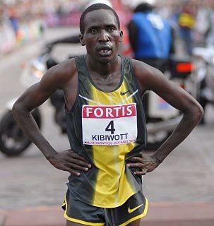 Francis Kibiwott Larabal Kenyan marathon runner