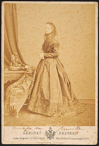 Princess Francisca of Brazil - Francisca around age 44, c.1868