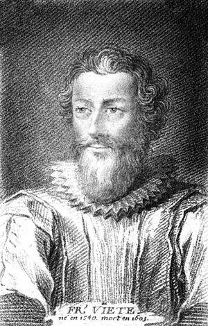 François Viète - François Viète, French mathematician