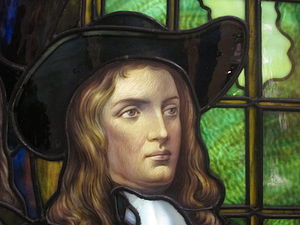 William Penn - Frederick S. Lamb's painting of William Penn at the Brooklyn Museum