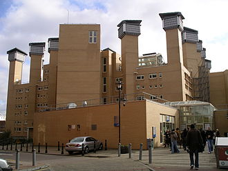 Coventry University - The Frederick Lanchester building housing the library first opened in September 2000