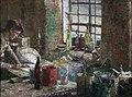 Fredrik Kolstø - Malerverksted - Nasjonalmuseet - NG.M.00815.jpg