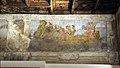 Fregio di enea, palazzo fava, gruppo dei carracci, 11 approdo in italia, 1595 ca..JPG