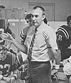 Fresno State head coach Darryl Rogers during halftime of 1969 game at CSLA.jpg