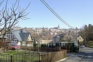 Annaberg-Buchholz - View of Annaberg