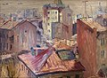 From the Workshop's Window by Aristarkh Lentulov (1930s).jpg