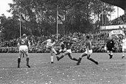 Fußballspiel Holstein Kiel gegen Borussia Mönchengladbach in der Aufstiegsrunde (Gruppe I) zur 1. Bundesliga, 4-2 (Kiel 77.591)