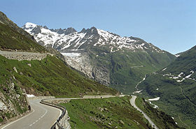 Image illustrative de l'article Col de la Furka