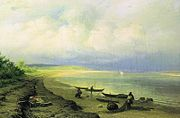 Fyodor Vasilyev Bank of the Volga after the Storm 10996.jpg