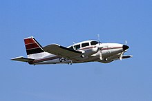Photograph of a Piper PA-23 Aztec aircraft