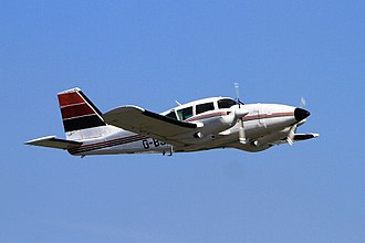 Graham Hill plane crash - A Piper PA-23 Aztec, similar to the accident aircraft