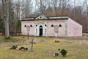 Iruste - G. W. von Aderkasi chapel in Iruste.