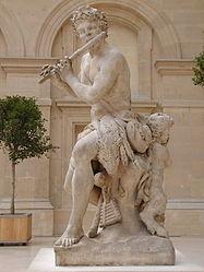 Antoine Coysevox: Shepherd with Flute