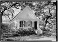 GENERAL VIEW OF NORTHEAST FRONT AND SOUTHWEST SIDE - Kilduff-Ray House, 200 George Street, Mobile, Mobile County, AL HABS ALA,49-MOBI,220-3.tif