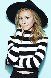 G Hannelius American actress and singer