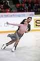 Gabriella Papadakis and Guillaume Cizeron at 2018 Internationaux de France-Ice dancing-IMG 6333.jpg