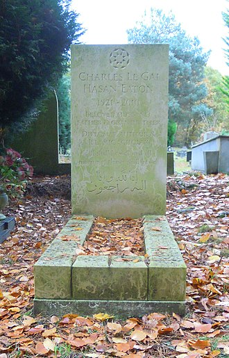 Gai Eaton - Gai Eaton's grave in Brookwood Cemetery
