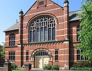 Richard Charles Sutton - Gainsborough United Reformed Church - formerly the John Robinson Memorial Church