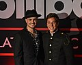 Gala Billboard Latin Music Showcase Chile 2018 - Augusto Schuster y Matías Vega Rojas - 01.jpg