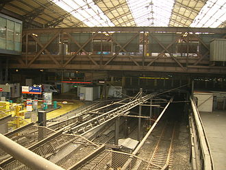 Gare d'Austerlitz (Paris Métro) - Image: Gare Austerlitz fond verriere