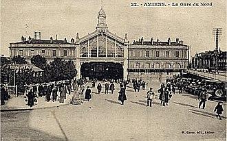 Gare d'Amiens - Image: Gare du Nord (Amiens)