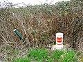 Gas pipeline marker, Barnfield Road, Swindon - geograph.org.uk - 366667.jpg