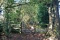 Gate on the Wealdway, Hurst Wood - geograph.org.uk - 1571765.jpg