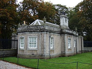 Dunecht House - Image: Gatehouse, Dunecht Estate geograph.org.uk 581180