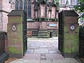 Gateway to the Cheshire Regiment Garden of Remembrance - geograph.org.uk - 533846.jpg