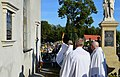 Gdów Cemetery 106 - Kusionowicz et Fihauser Plaques Dedication III.jpg