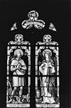 gebrandschilderd glas in de zuiderzijbeuk- sanctus isidorus en sancta brigida - noorbeek - 20168642 - rce