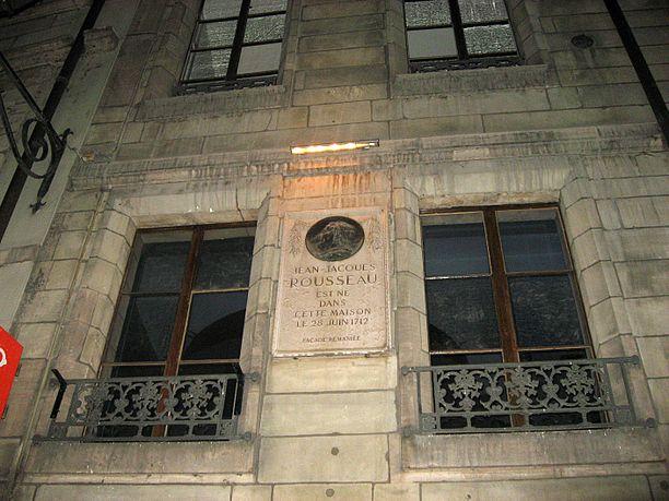 Geburtshaus von Jean-Jacques Rousseau in Genf