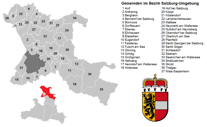 Municipalities in the district of Salzburg-Umgebung.png