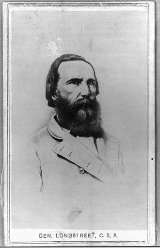 James Longstreet - Sketch of Longstreet, 1861